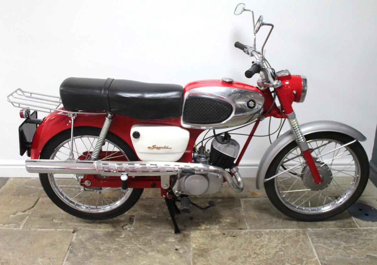 1966 Suzuki 80cc K11 Sports Excellent Condition SOLD (picture 1 of 6)