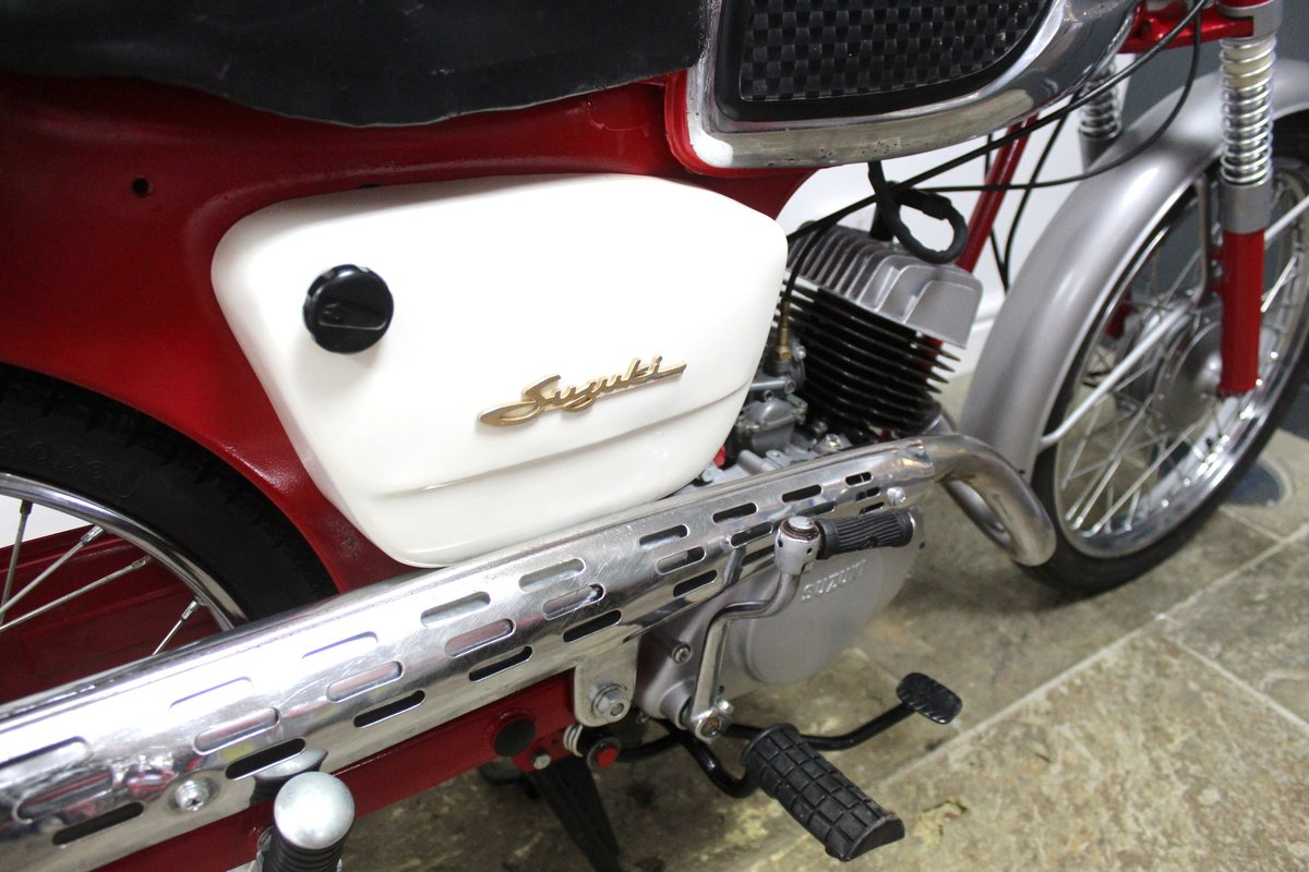1966 Suzuki 80cc K11 Sports Excellent Condition SOLD (picture 3 of 6)