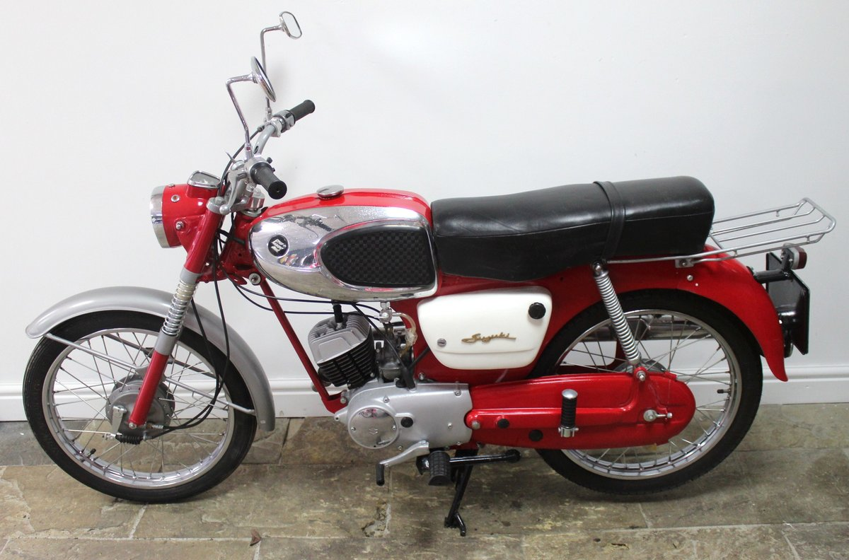 1966 Suzuki 80cc K11 Sports Excellent Condition SOLD (picture 4 of 6)