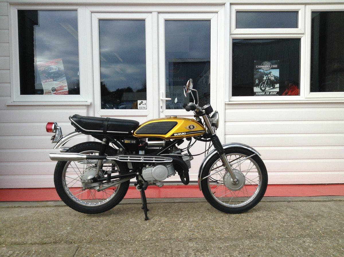 1970 Suzuki T125 Stinger For Sale (picture 1 of 6)