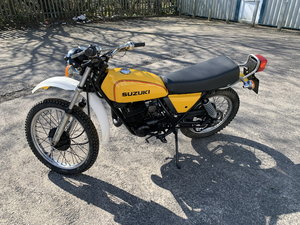 1978 SUZUKI TS250 C UK BIKE 10,000 MILES