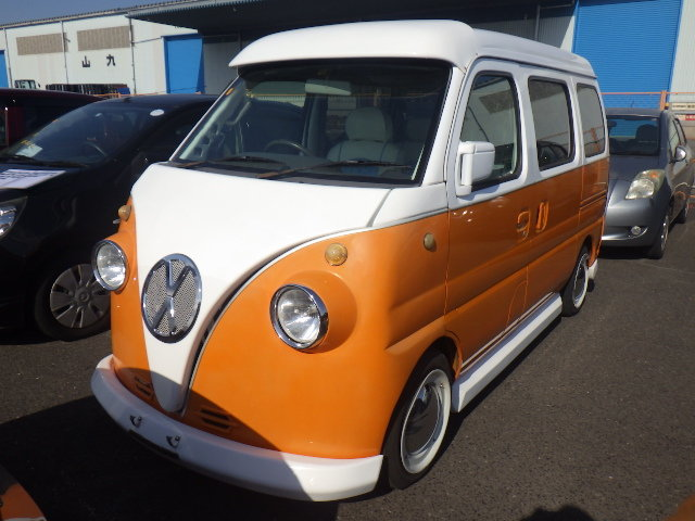2000 SUBARU SAMBAR SUZUKI EVERY 660CC MINI SAMBAR * RETRO CAMPER  For Sale (picture 1 of 6)