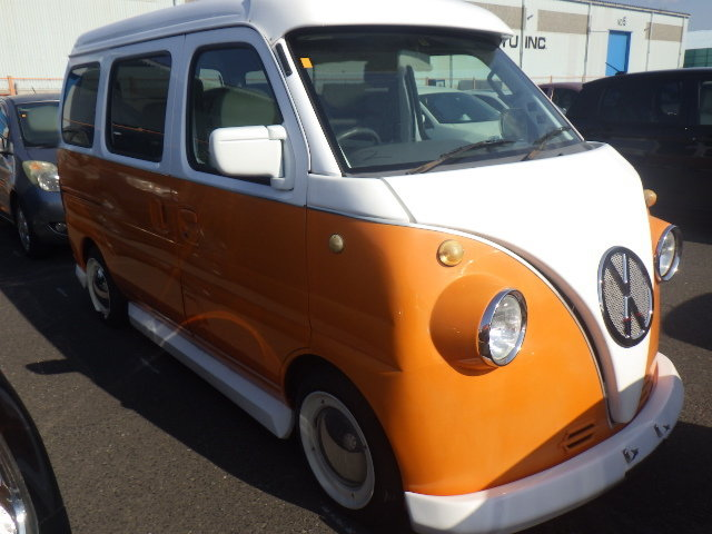 2000 SUBARU SAMBAR SUZUKI EVERY 660CC MINI SAMBAR * RETRO CAMPER  For Sale (picture 2 of 6)