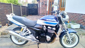 2002 SUZUKI GSX1400  STUNNING ULTRA LOW MILEAGE EXAMPLE