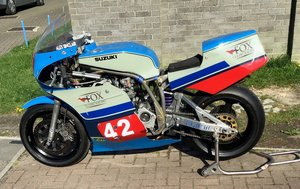 2014 Suzuki Harris XR 69 race bike 06/05/20 SOLD by Auction