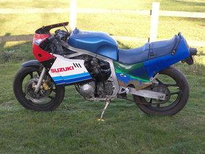 """1985 GSXR 750F """"Slabside"""" for restoration"""