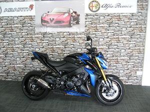 2018 18-regSuzuki GSX1000S AL8 ABS in blue metallic For Sale