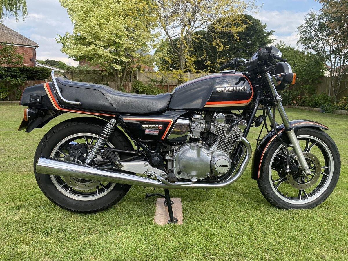 1985 GS850E Genuine 4200 miles For Sale (picture 1 of 6)