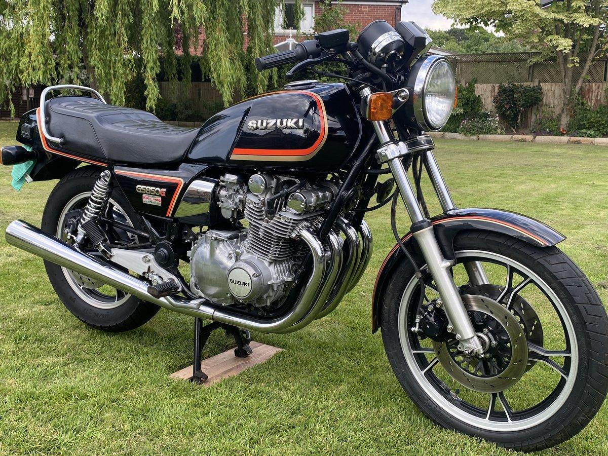 1985 GS850E Genuine 4200 miles For Sale (picture 2 of 6)