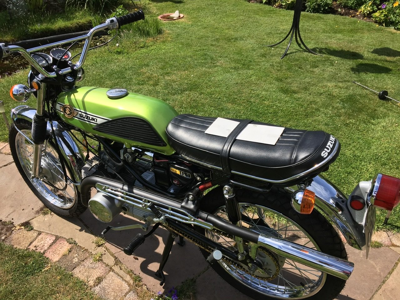 1971 Suzuki T125R Stinger For Sale (picture 3 of 6)
