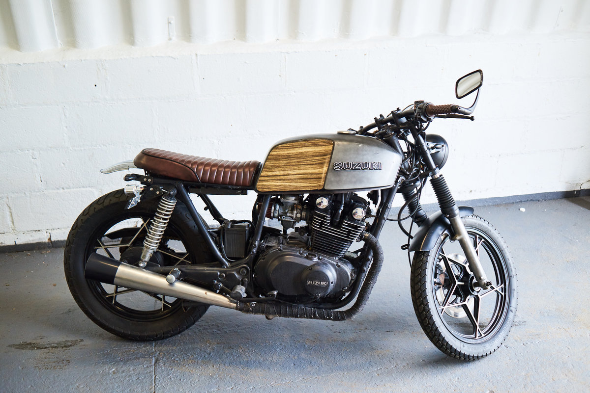 1982 SUZUKI GS450 Cafe Racer For Sale (picture 6 of 6)