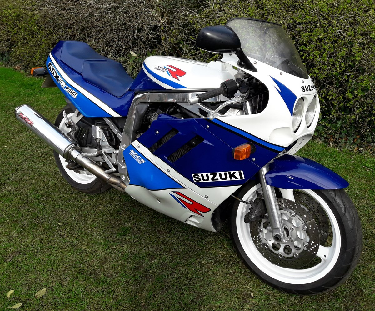 1989 Suzuki GSX-R750 Slingshot For Sale (picture 1 of 6)