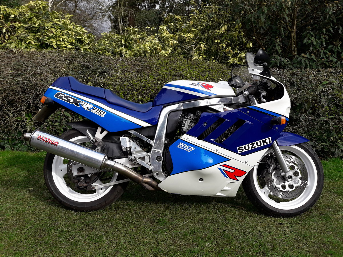 1989 Suzuki GSX-R750 Slingshot For Sale (picture 3 of 6)