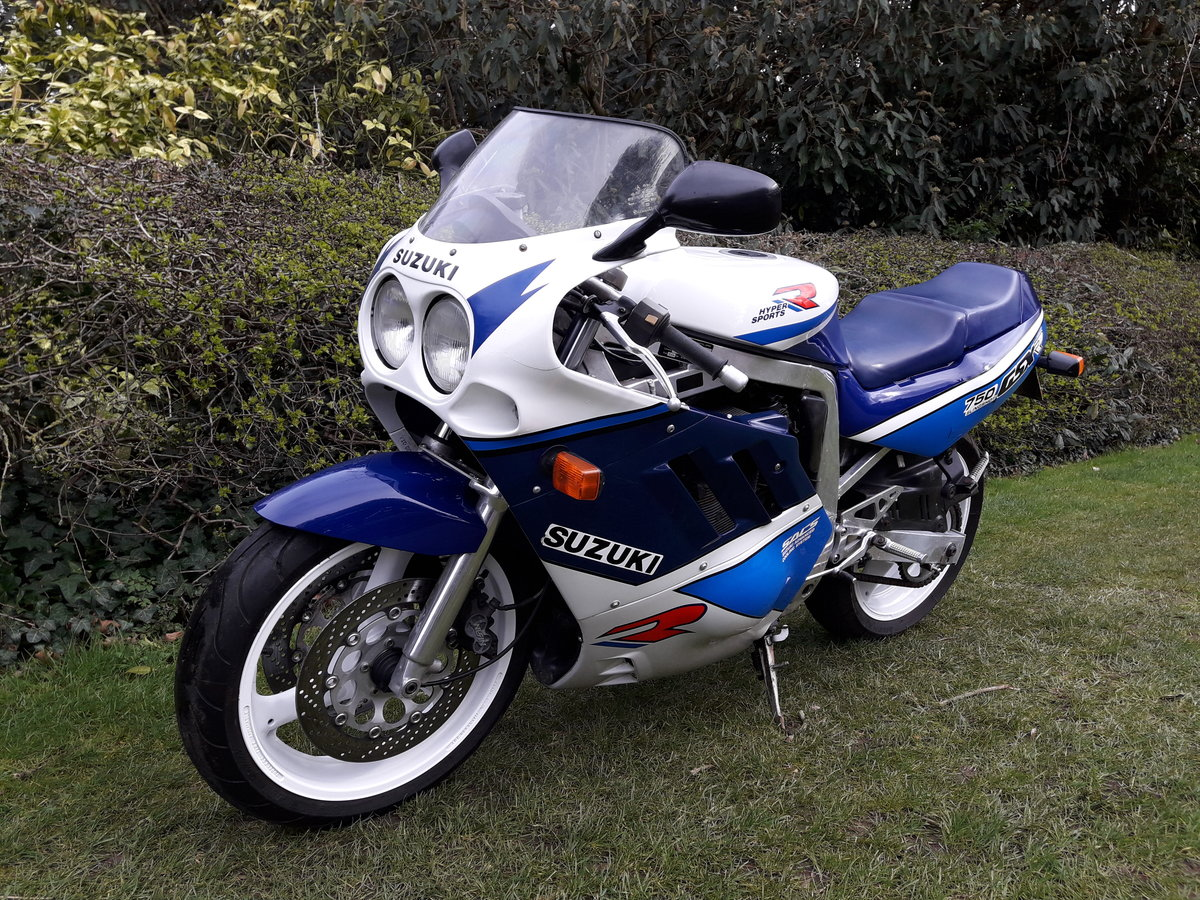 1989 Suzuki GSX-R750 Slingshot For Sale (picture 5 of 6)