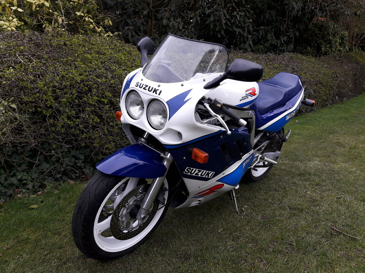 1989 Suzuki GSX-R750 Slingshot For Sale (picture 6 of 6)