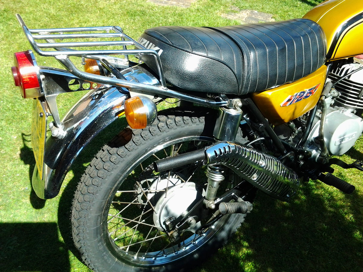 1971 Suzuki ts125r classic trail/road motorcycle SOLD (picture 3 of 6)