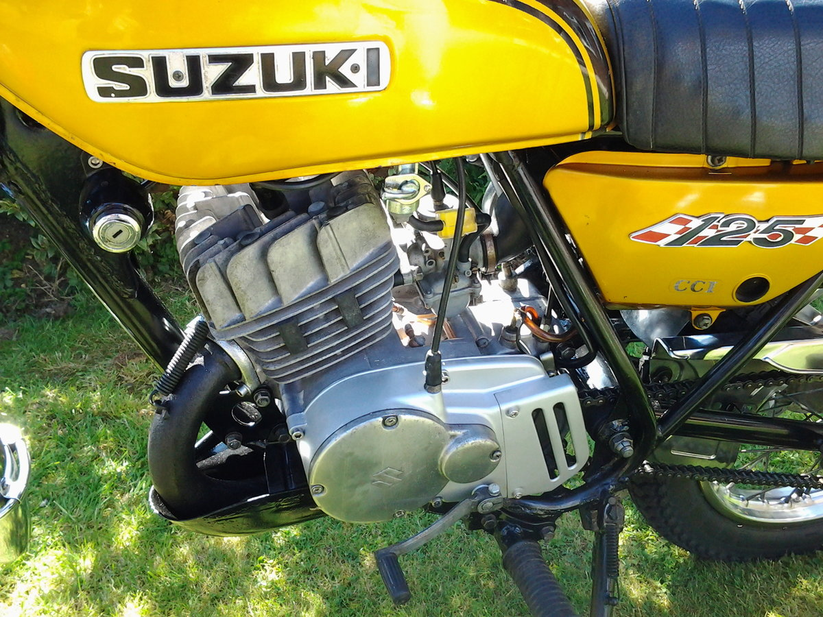 1971 Suzuki ts125r classic trail/road motorcycle SOLD (picture 4 of 6)