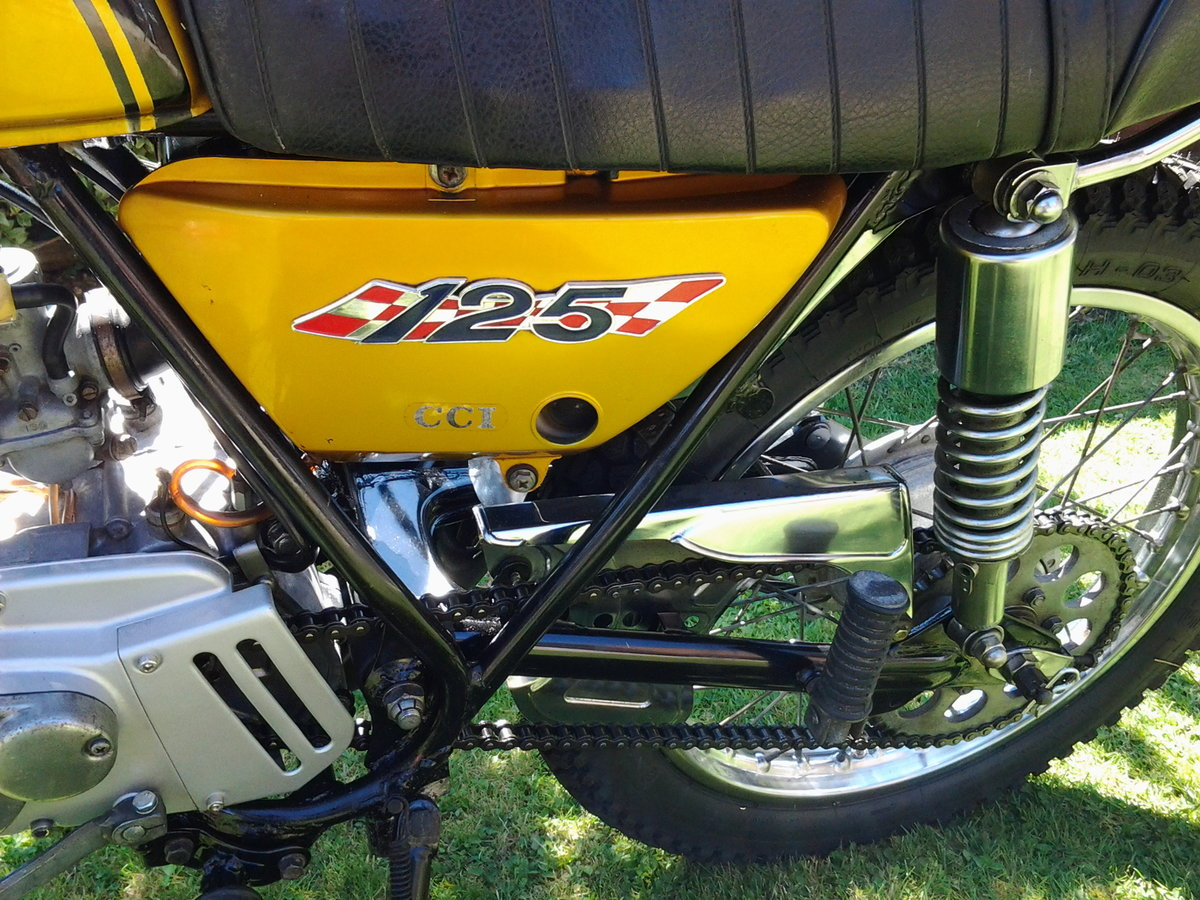 1971 Suzuki ts125r classic trail/road motorcycle SOLD (picture 5 of 6)