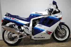 1990 Suzuki GSXR 1100 L DOHC 25,873 miles SUPERB
