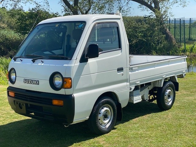1996 SUZUKI CARRY TRUCK 660CC MANUAL DROPSIDE PICKUP *** ONLY 600 For Sale (picture 1 of 6)