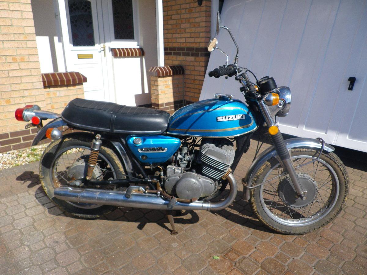 1974 Suzuki T500 For Sale (picture 1 of 5)