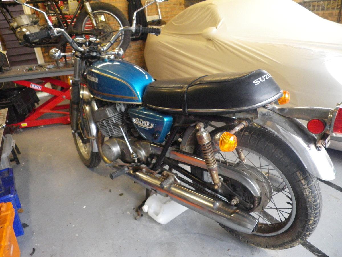 1974 Suzuki T500 For Sale (picture 2 of 5)