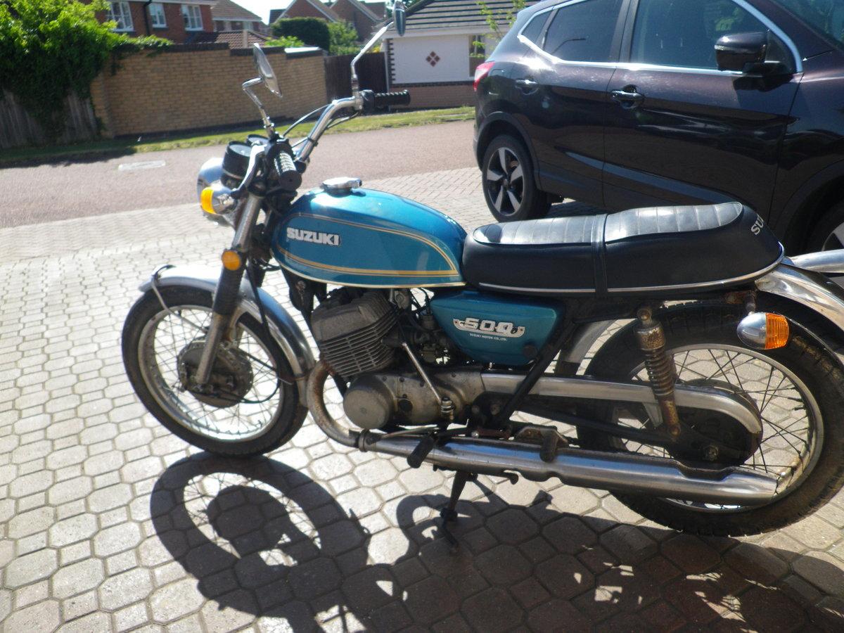 1974 Suzuki T500 For Sale (picture 5 of 5)