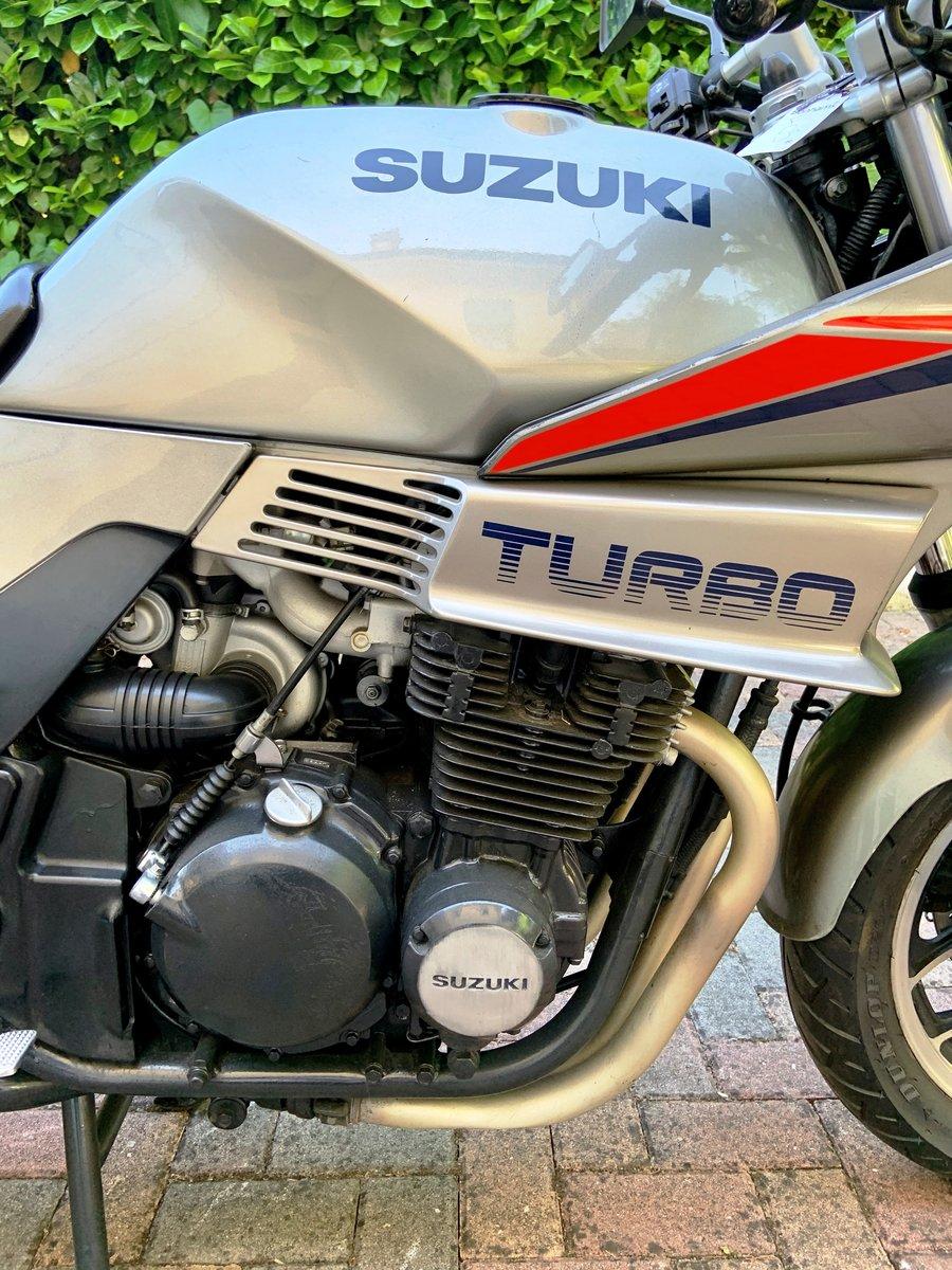 Suxzuki Turbo XN85 1983 SOLD (picture 4 of 6)