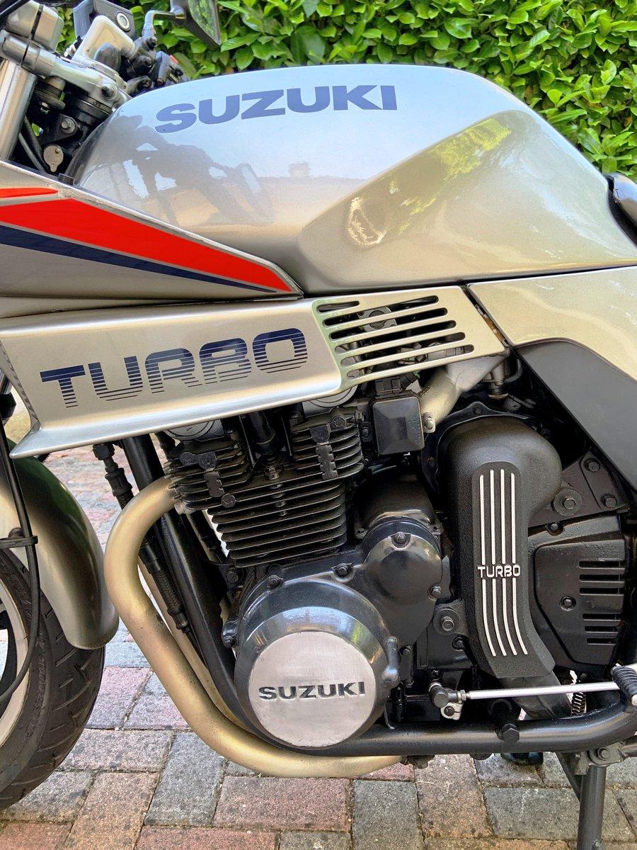 Suxzuki Turbo XN85 1983 SOLD (picture 5 of 6)