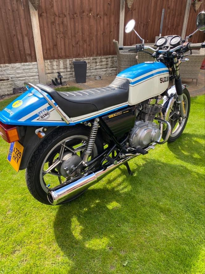 1983 Suzuki gsx 250 gt 17500 miles For Sale (picture 2 of 6)