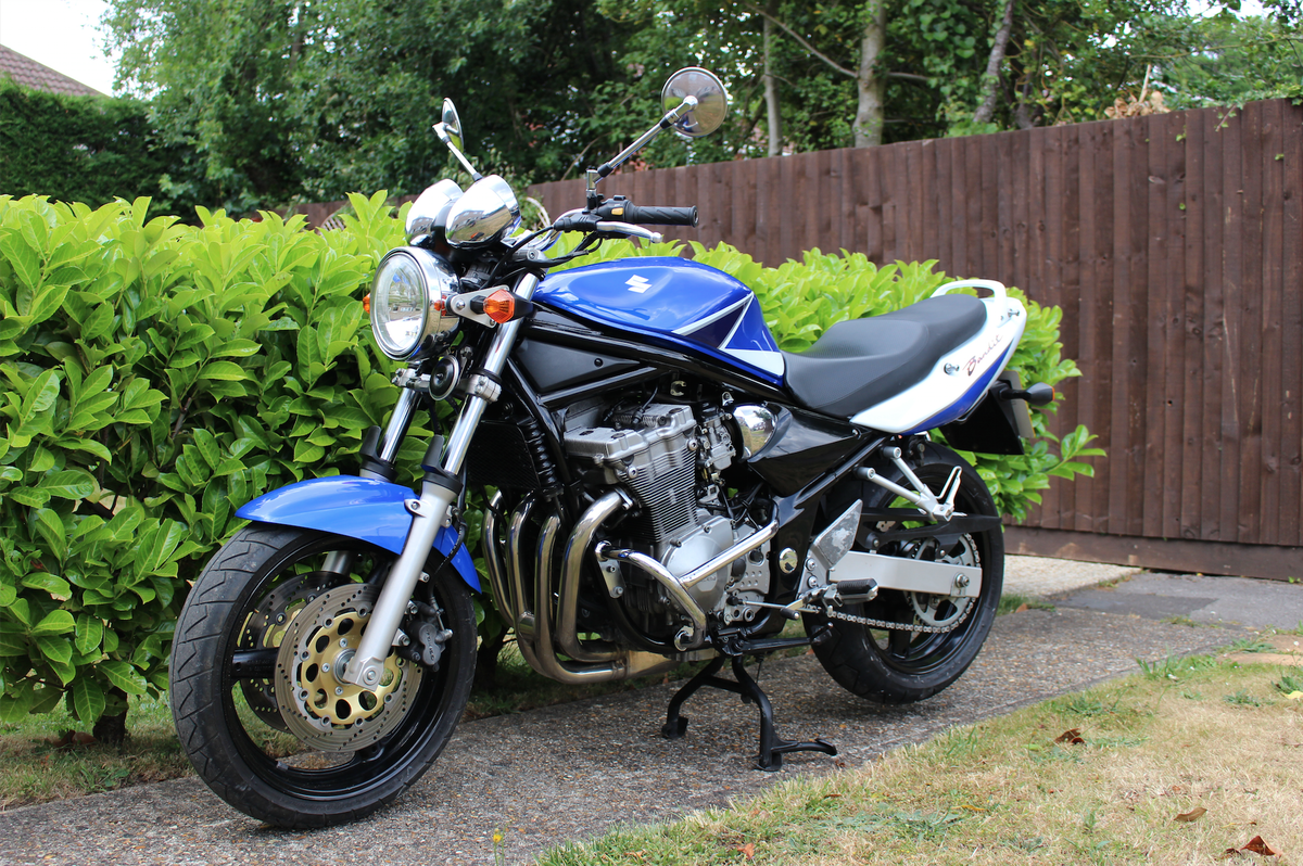 2007 Suzuki Bandit GSF600 Z Limited Edition For Sale (picture 1 of 6)