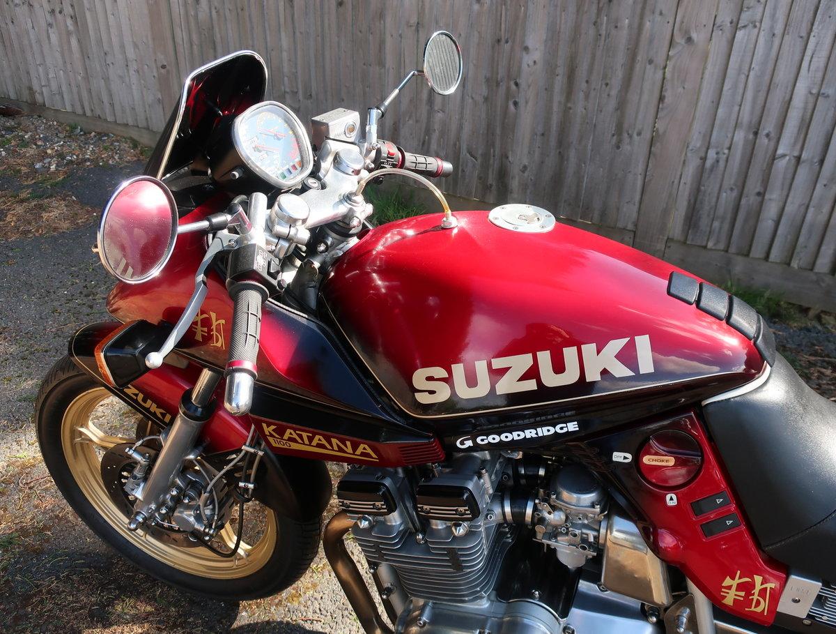 1982 Suzuki Katana 1100  For Sale (picture 5 of 6)