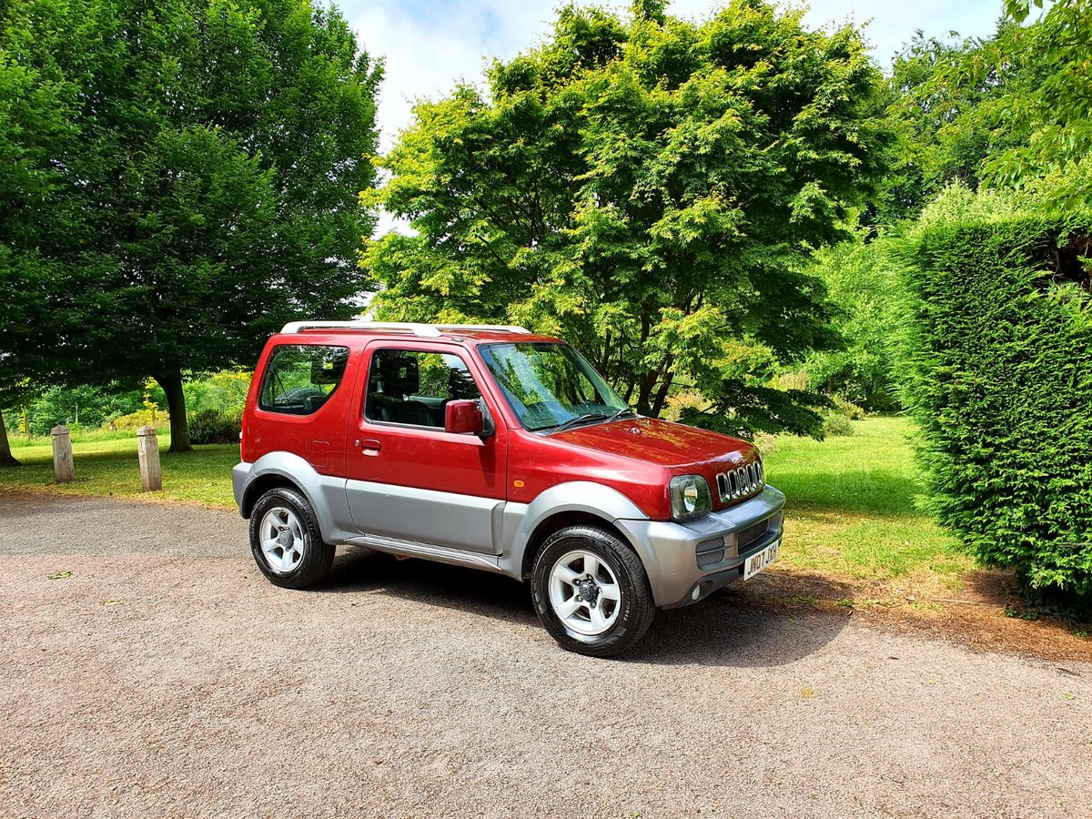 2007 suzuki jimny jlx+! 55k-miles! Ac,leather! For Sale (picture 1 of 6)