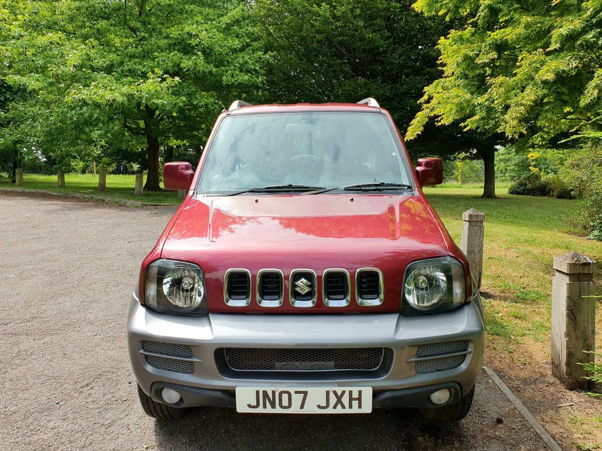 2007 suzuki jimny jlx+! 55k-miles! Ac,leather! For Sale (picture 2 of 6)