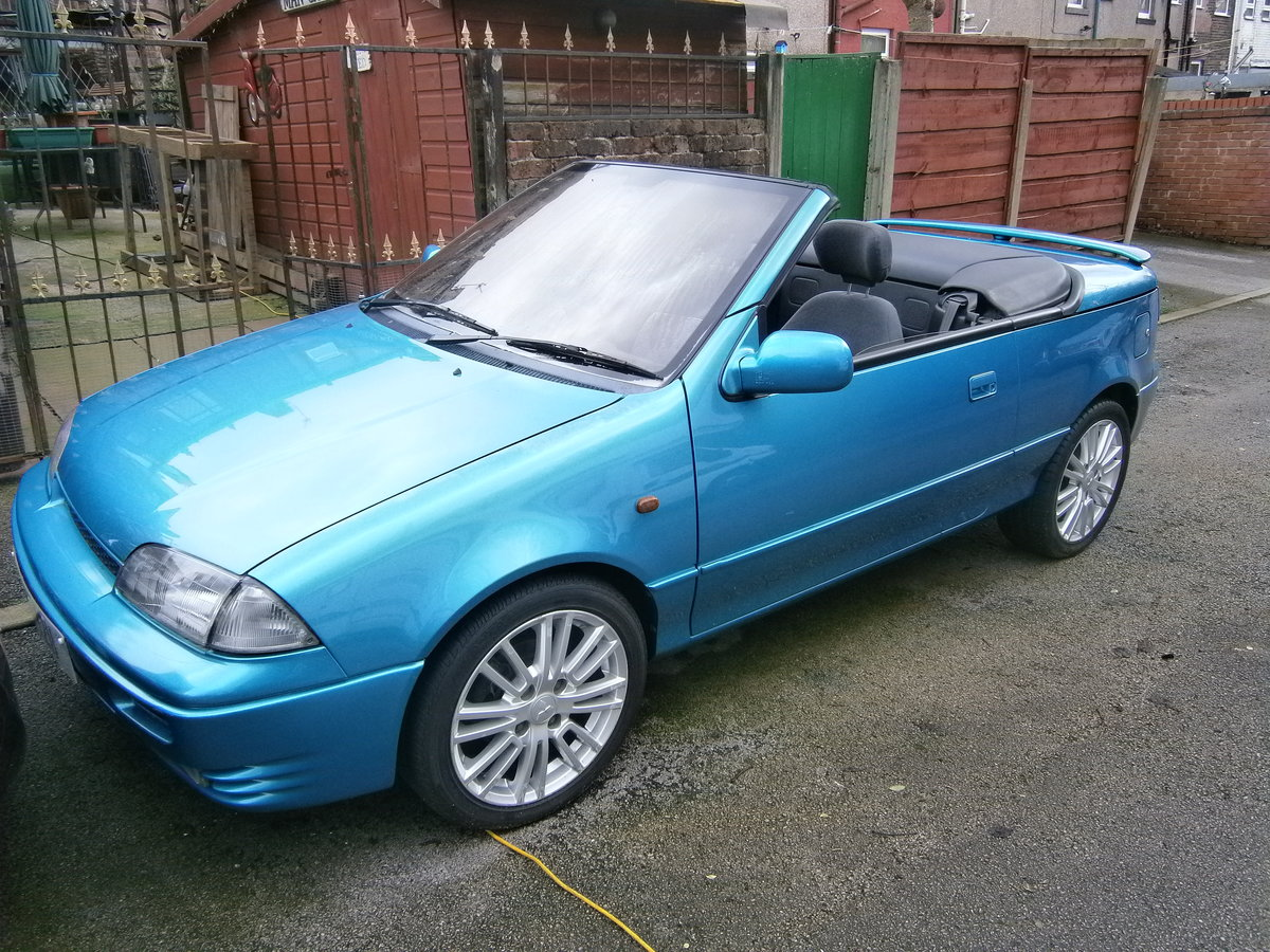 1993 Suzuki cultus convertible 1.3 16v 21000 miles only For Sale (picture 1 of 6)
