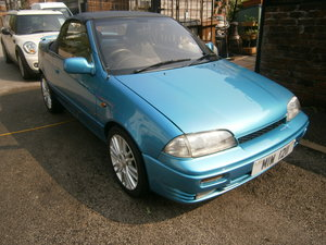 1993 Suzuki cultus convertible 1.3 16v 21000 miles only For Sale (picture 4 of 6)