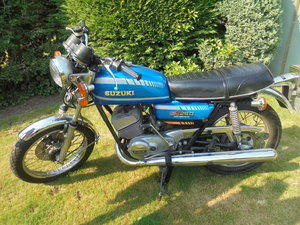 Suzuki gt250b original mint bike