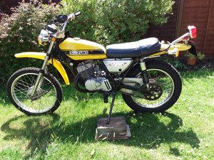 SUZUKI TS 125 CLASSIC BIKE LEARNER LEGAL