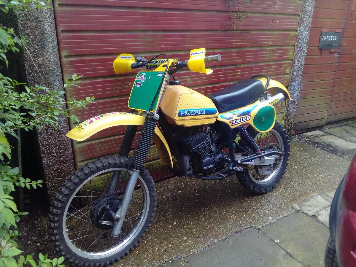 1981 Suzuki pe175 vinduro For Sale (picture 1 of 6)