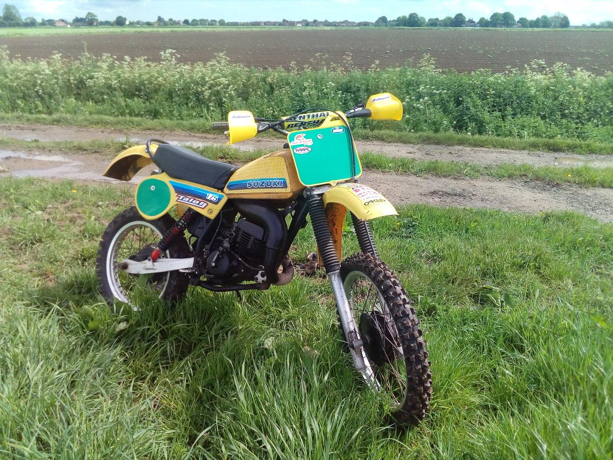 1981 Suzuki pe175 vinduro For Sale (picture 4 of 6)