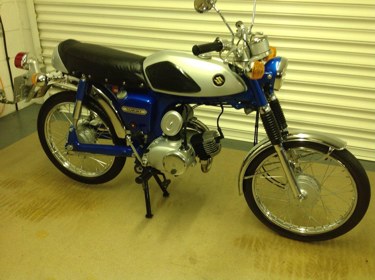 1970 Rare suzuki as 50   SOLD (picture 4 of 6)