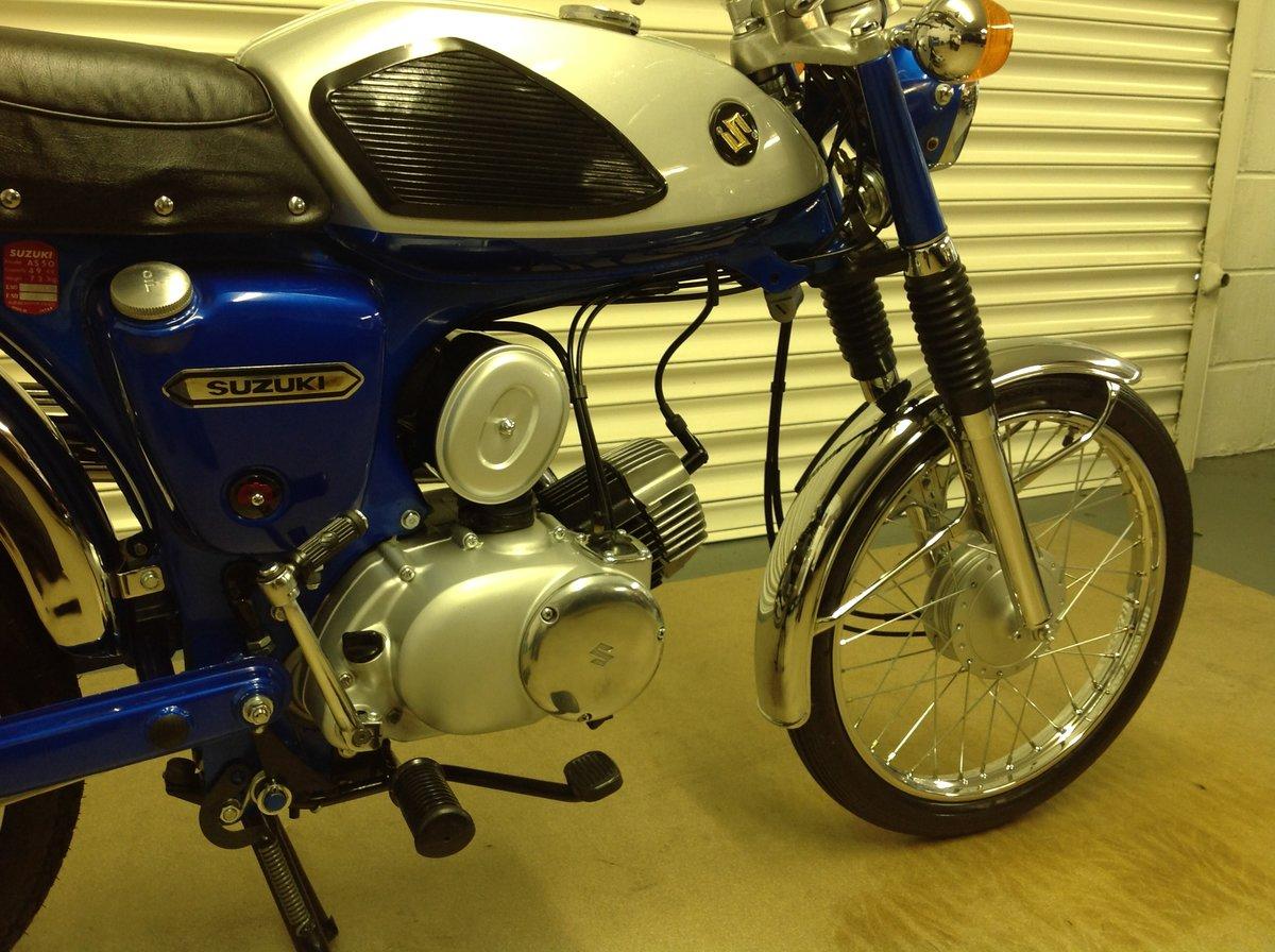 1970 Rare suzuki as 50   SOLD (picture 5 of 6)