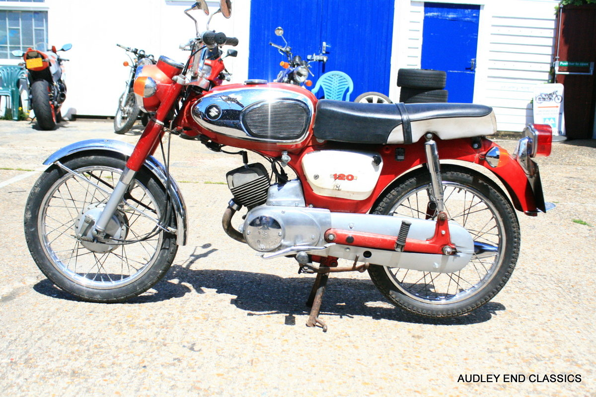 1973 SUZUKI B120 STUDENT For Sale (picture 4 of 6)