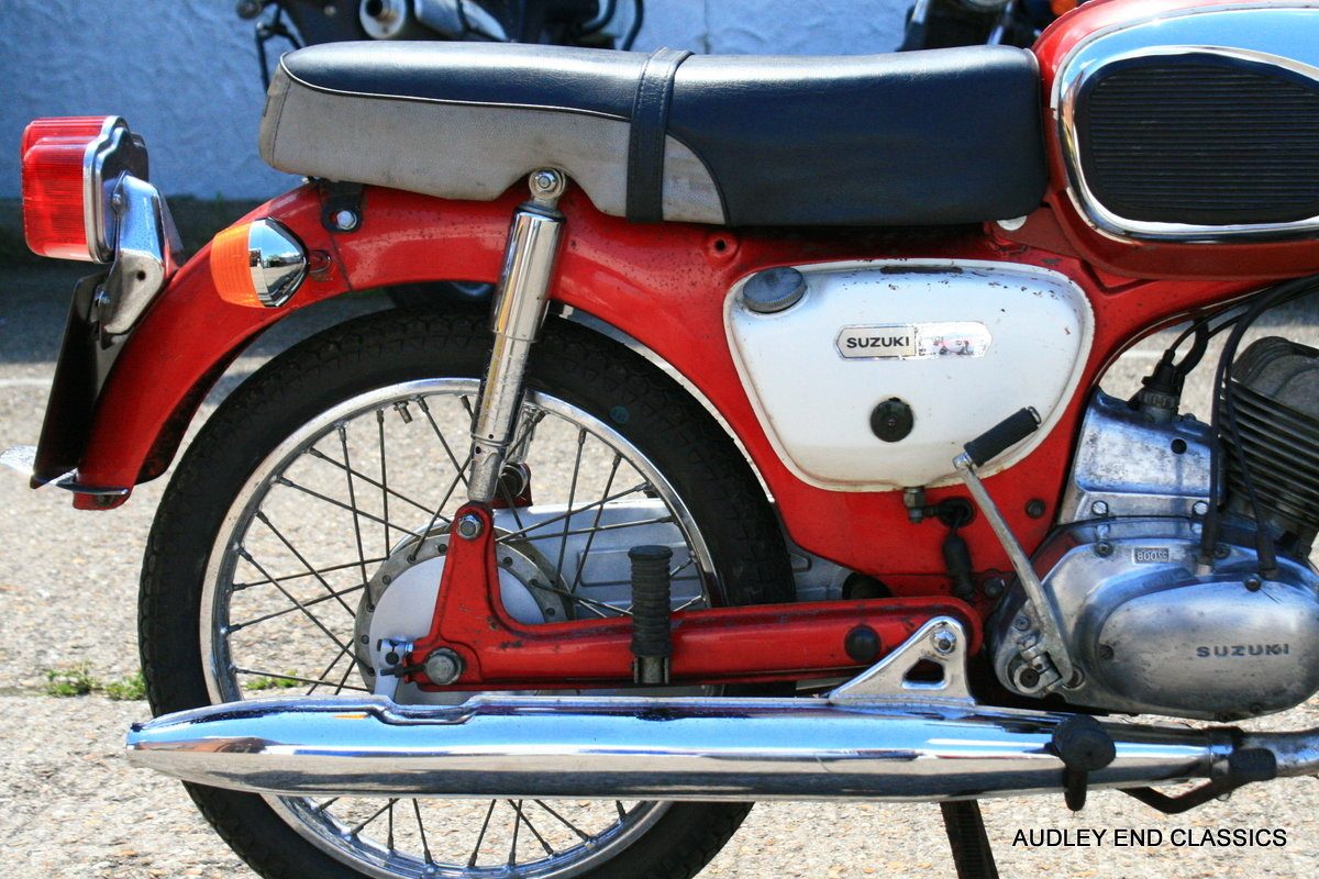 1973 SUZUKI B120 STUDENT For Sale (picture 5 of 6)