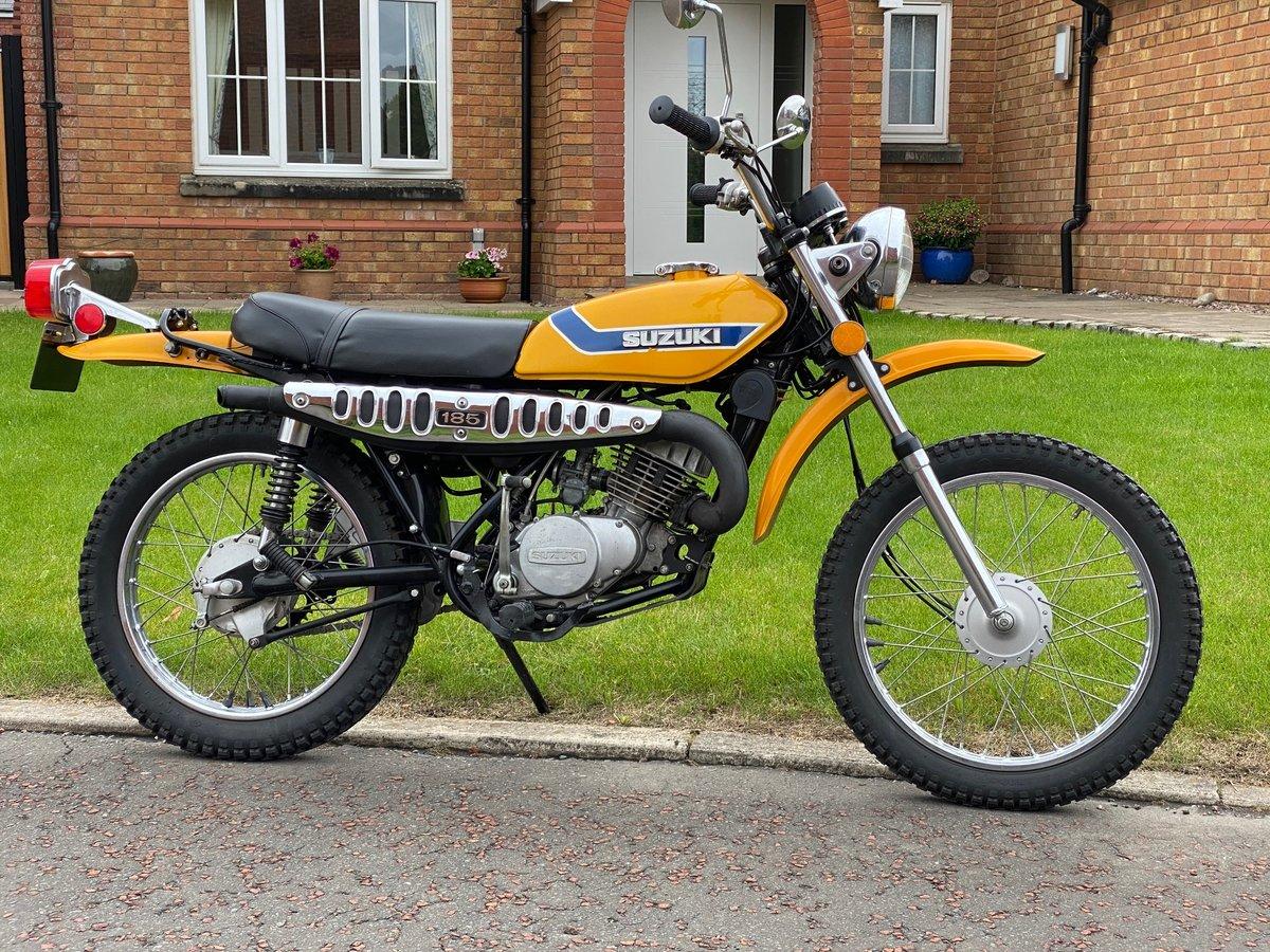 1973 SUZUKI TS-185K Sierra - Fantastic Investment Bike For Sale (picture 1 of 6)