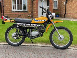 SUZUKI TS-185K Sierra - Fantastic Investment Bike