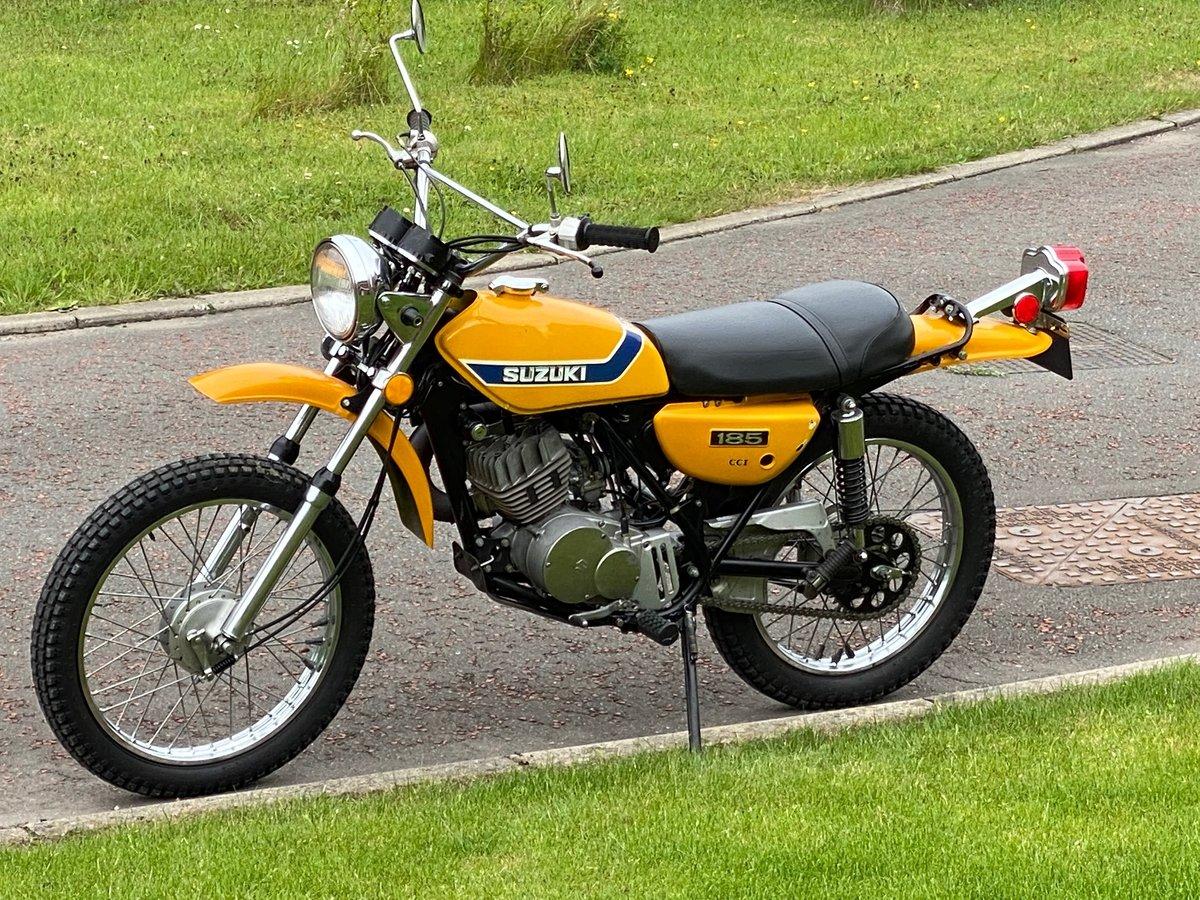 1973 SUZUKI TS-185K Sierra - Fantastic Investment Bike For Sale (picture 2 of 6)