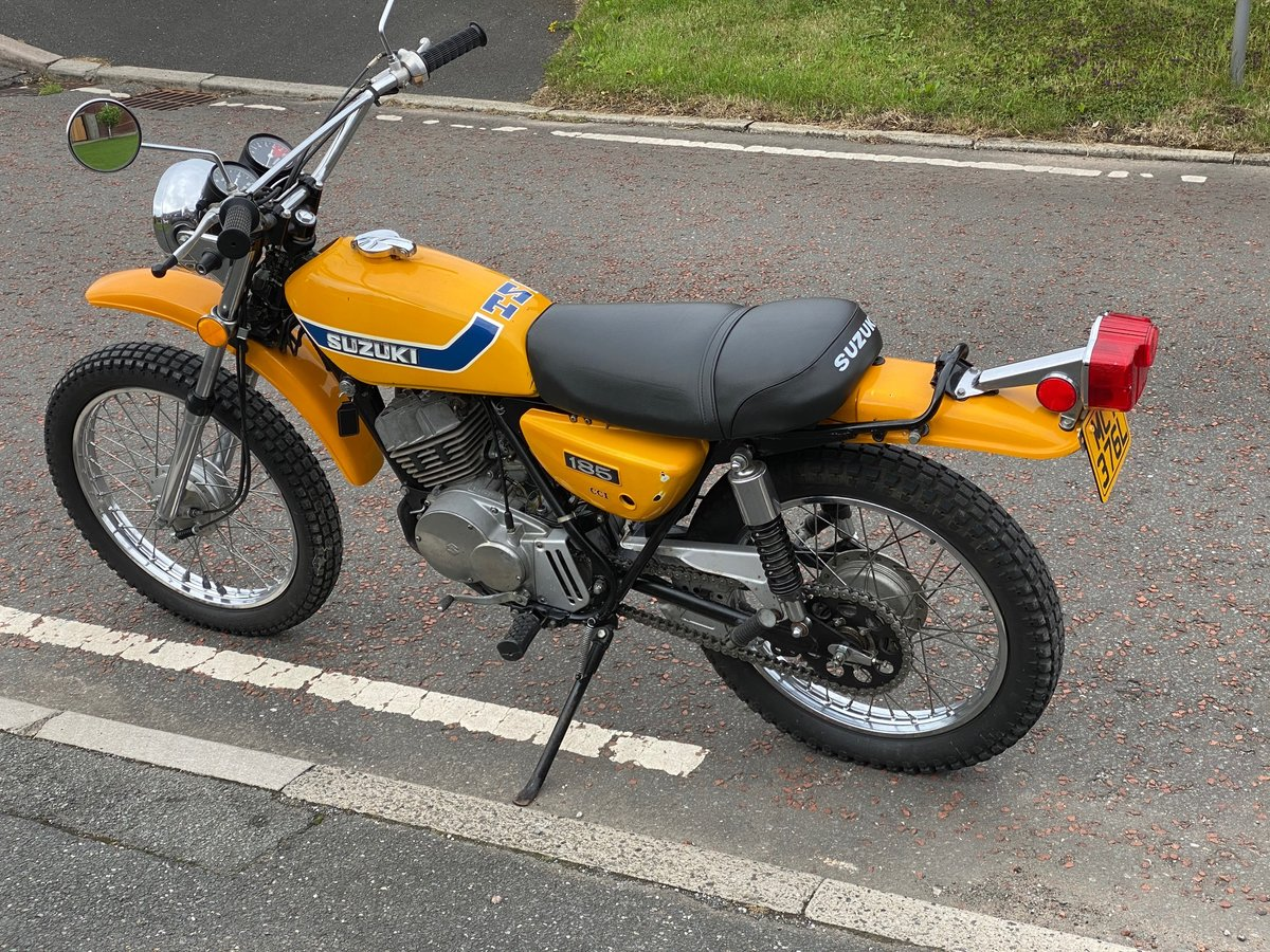 1973 SUZUKI TS-185K Sierra - Fantastic Investment Bike For Sale (picture 5 of 6)