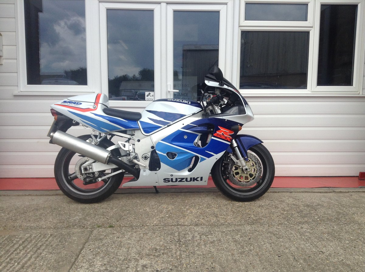 1995 GSXR 750 Fantastic Low Mileage Example For Sale (picture 1 of 6)