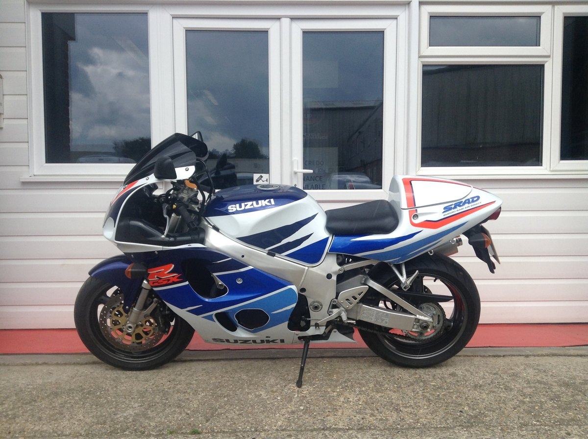 1995 GSXR 750 Fantastic Low Mileage Example For Sale (picture 2 of 6)